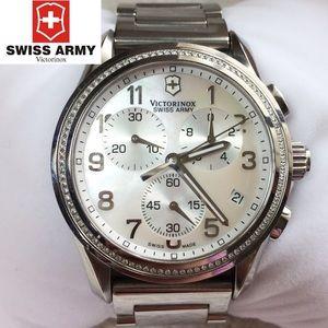 Victorinox Swiss Army Diamond Dial Chronograph